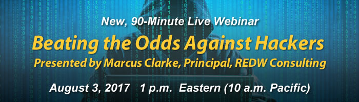 Webinar: Beating the Odds against Hackers